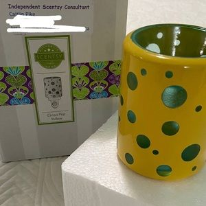 Circus Pop Yellow Scentsy Warmer